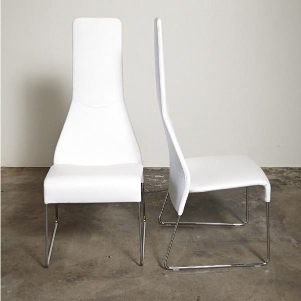 B&B Italia Lazy 05 High Back Dining Chairs - Pair - Image 2 of 4