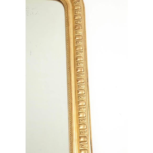 Louis Philippe Giltwood Louis Philippe Mirror For Sale - Image 4 of 9