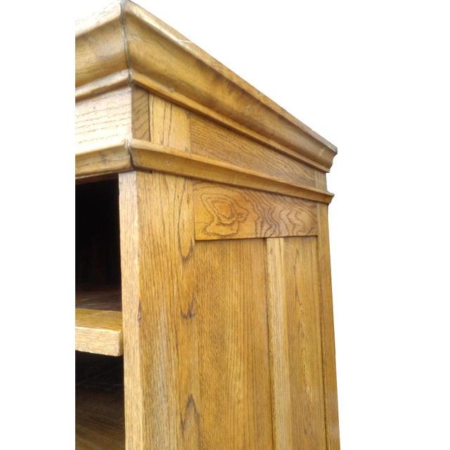 MCM Rustic Wood Book Shelf Storage Unit - Image 5 of 7