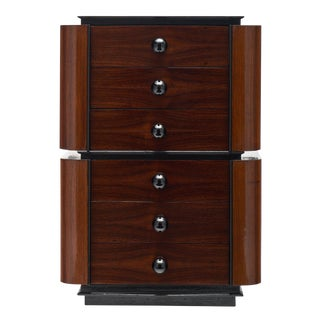1940s Art Deco Period Rosewood Chiffonier For Sale