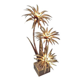 Palm Tree Lamp from Maison Jansen, 1972