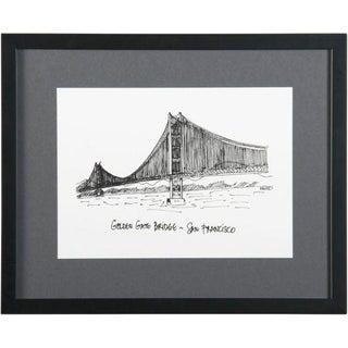 Framed San Francisco Golden Gate Bridge Print For Sale