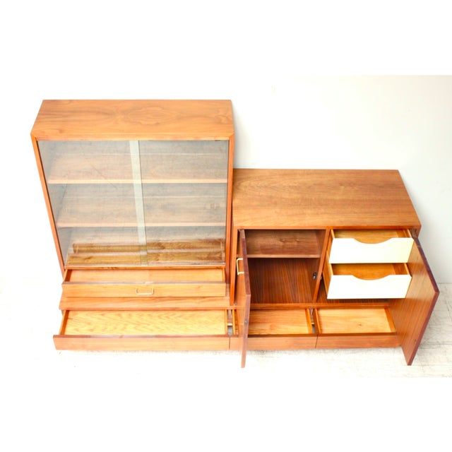American of Martinsville Mid-Century Wall Unit - Image 4 of 6