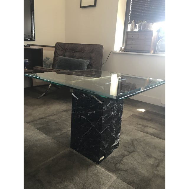 Artedi Nero Marquina Marble Side Tables - A Pair For Sale - Image 10 of 10