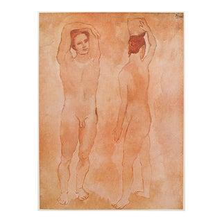 Original 1948 Picasso Les Adolescents Lithograph