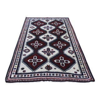 Vintage Turkish Handmade Rug - 4′8″ × 8′5″