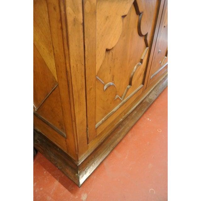 Jean Michel Arrigona Alder Wood Carved Armoire - Image 5 of 8
