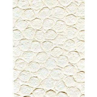 Sample, Maya Romanoff Meditations Ohm - Handmade Paper Wallcovering For Sale