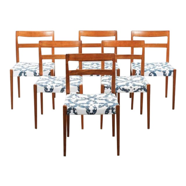 Dining Chairs by Nils Jonsson for Troeds, 1960s - Set of 6 For Sale
