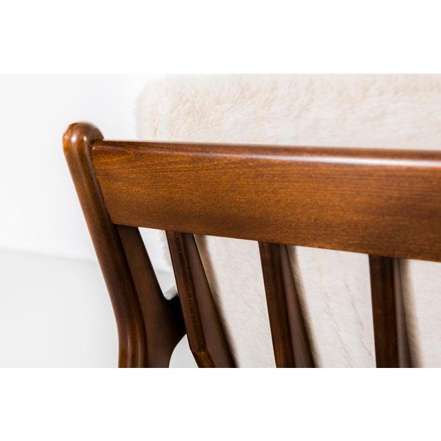 1950s Ib Kofod-Larsen for Selig Teak Wood Sofa For Sale - Image 5 of 13