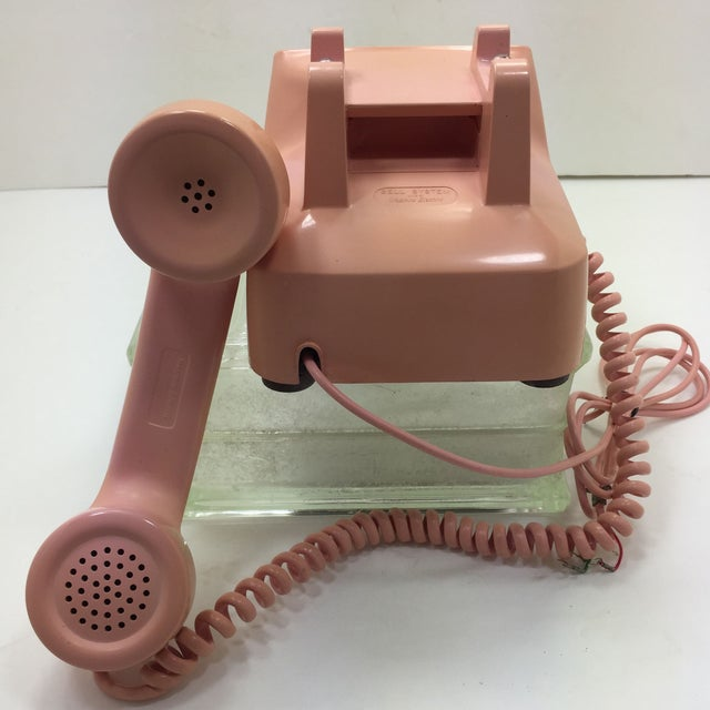 Western Electric 1960s Pink 1500 Telephone - Image 5 of 8