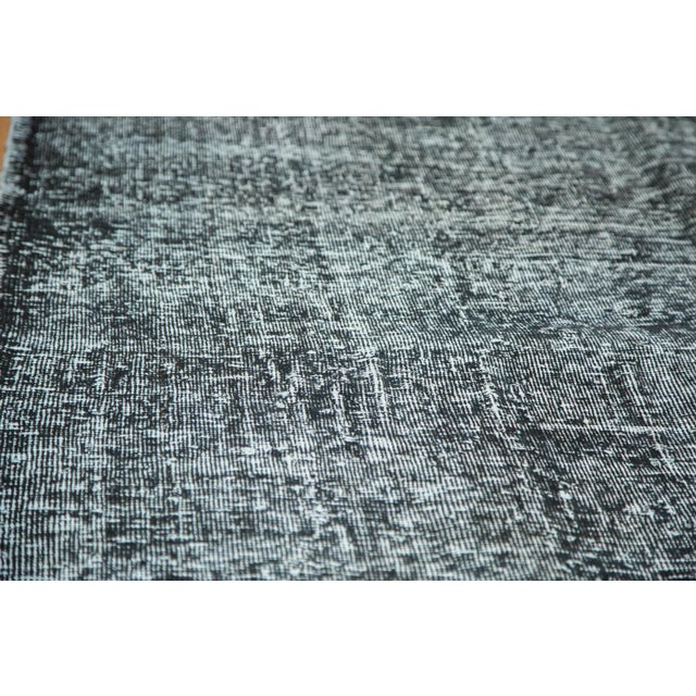 "Vintage Overdyed Gallery Rug Runner - 4'11""x11'10"" - Image 4 of 9"