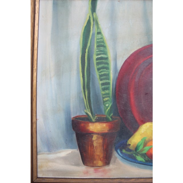 N. Jacobs Still Life Oil Painting For Sale - Image 5 of 11
