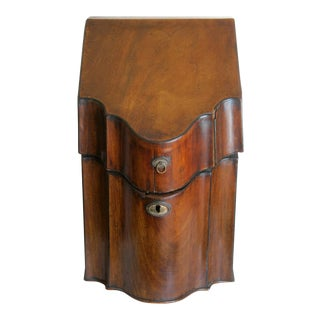 Antique Knife Box, Late 18th Century- Early 19th Century For Sale