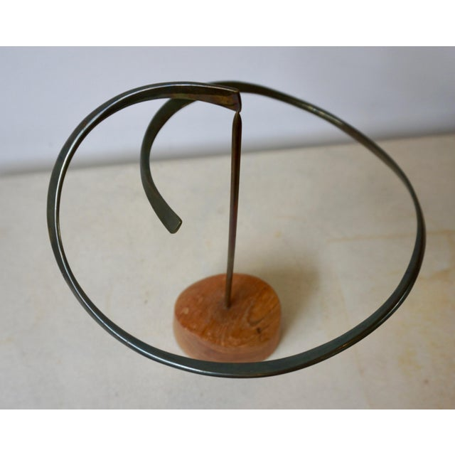 1960s Kinetic Bronze Sculpture by Russell Secrest For Sale - Image 5 of 7