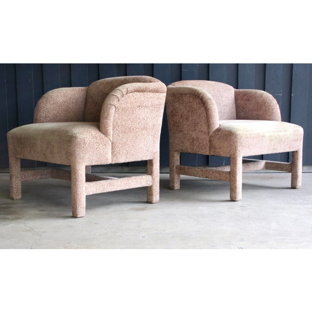 1980's Contemporary Chairs, a Pair For Sale - Image 13 of 13