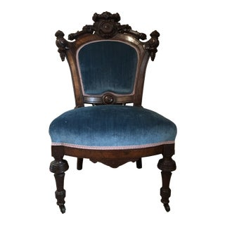 Early 20th Century Rococo Style Side Chair For Sale