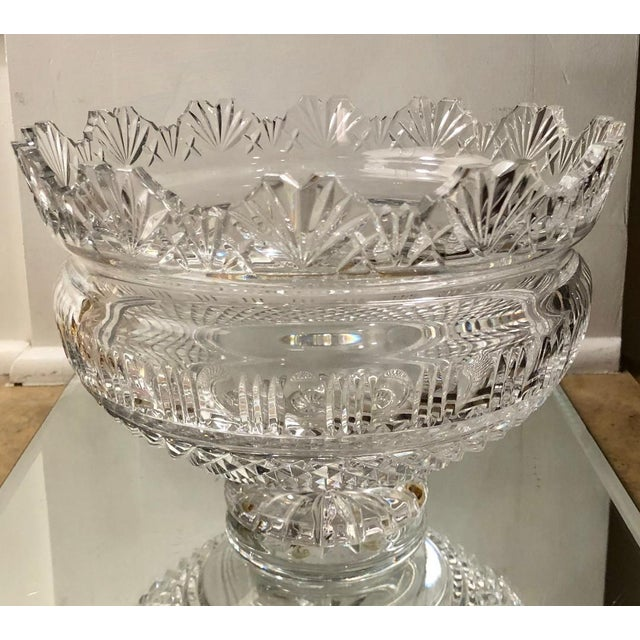 1990s Huge Waterford Crystal Kings Centerpiece Bowl For Sale - Image 5 of 5