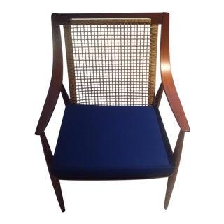 1950s Scandinavian Modern Lounge Chair For Sale