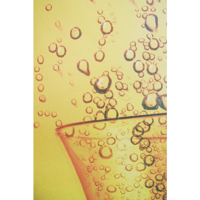 1995 Schweppes Advertising Poster, Schhh...! Umbrella - Image 3 of 5