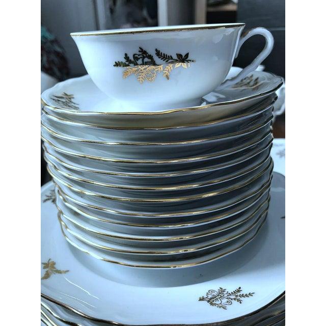 Epiag Royal Czechoslovakia Luncheon Set - 43 Pieces For Sale - Image 10 of 13