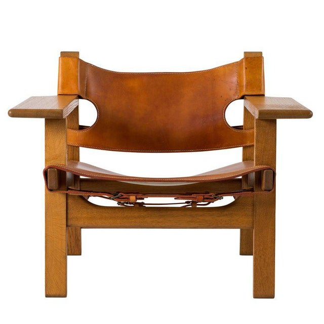 "Børge Mogensen ""Spanish"" Chair - Image 2 of 10"