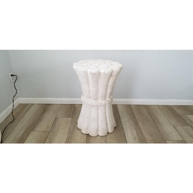 John Dickinson Style Plaster Dining Table Base . For Sale - Image 10 of 10
