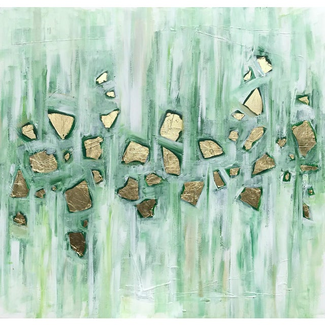 'Viridescence' Original Abstract Painting by Linnea Heide For Sale - Image 10 of 10