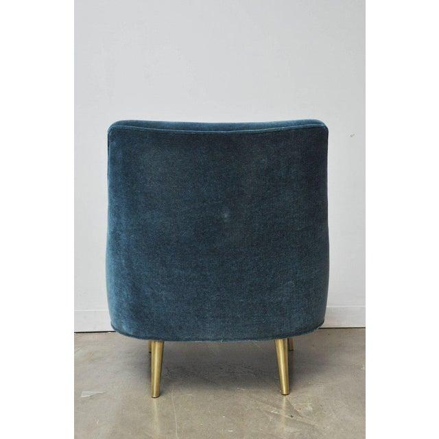 "Dunbar Furniture Dunbar ""Teardrop"" Chair by Edward Wormley For Sale - Image 4 of 7"