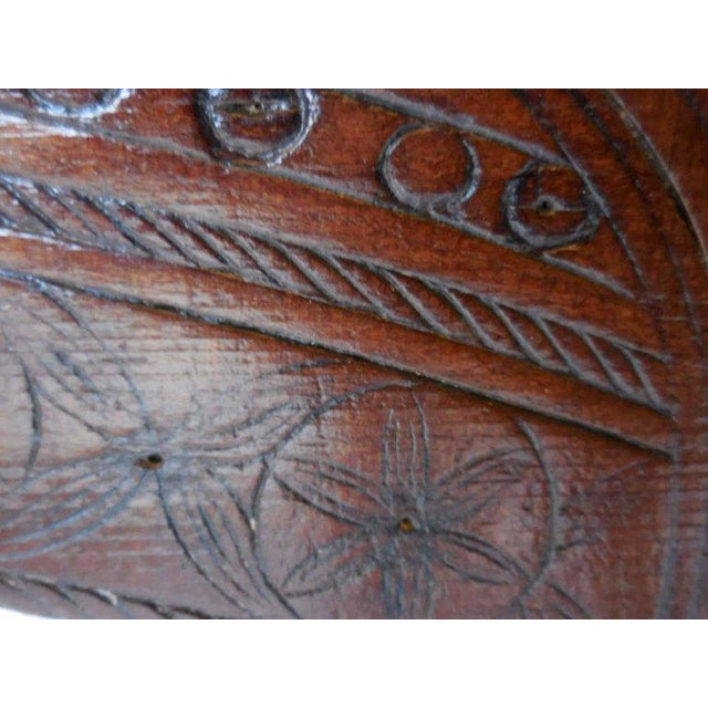 Brown Spanish Colonial Carved Table For Sale - Image 8 of 11