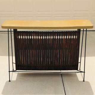 1960s Mid Century Modern Arthur Umanoff Dry Bar Preview