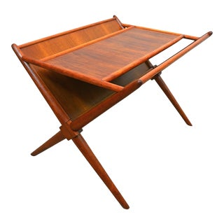 Mid Century Modern t.h. Robsjohn-Gibbings for Widdicomb Magazine Table For Sale