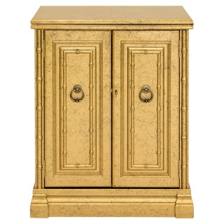 Locking Flip Top Bar Cabinet by Jasper For Sale