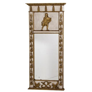 19th Century Large Neoclassical Mirror For Sale