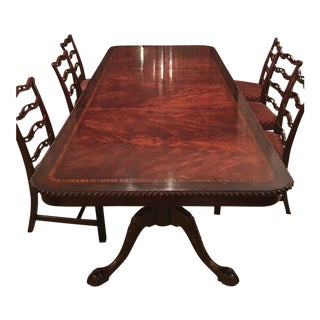 Chippendale Dining Room Table and Chairs