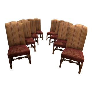 Christopher Douglas Dining Chairs - Set of 8 For Sale