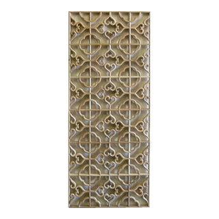 Wood Geometric Wall Panel For Sale