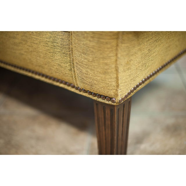 Chanel Chaise Lounge Chair with Nailheads - Image 8 of 9