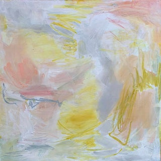 """First Blush"" by Trixie Pitts Abstract Expressionist Oil Painting For Sale"
