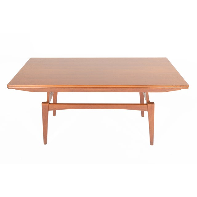 Danish Modern Coffee or Dining Elevation Table - Image 8 of 9