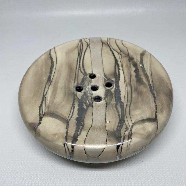 Vintage Nieslen Ceramic Soap Dish For Sale - Image 11 of 13