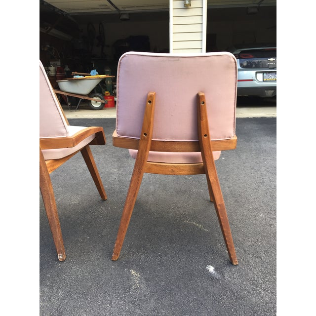 John Keal by Brown Saltzman Dining Room Chairs - Set of 4 For Sale In Philadelphia - Image 6 of 9