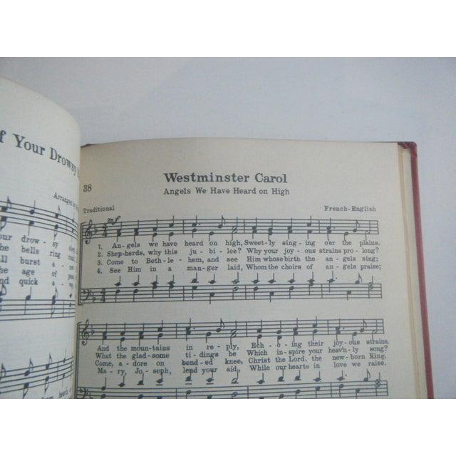 1932 Noels: Collection of Christmas Carols, Signed - Image 5 of 6
