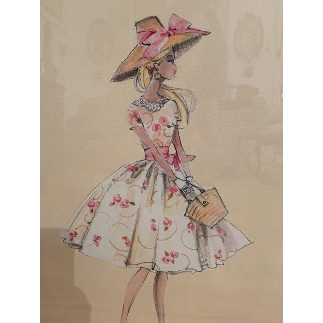 Barbie Fashion Model Collectible Prints - Set of 4 For Sale In Philadelphia - Image 6 of 13