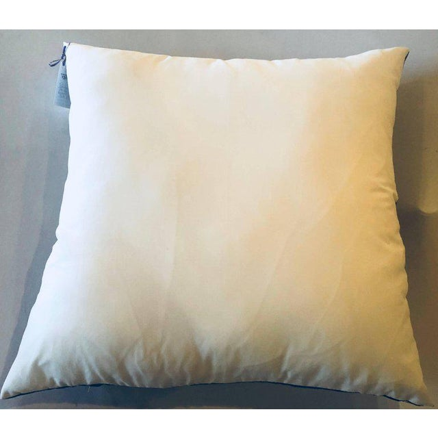 Hollywood Regency Style Hermes 'The Bull and Mouth Regents Circus' Silk Pillow For Sale - Image 10 of 11