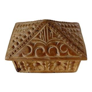 Bavarian Wood Box For Sale