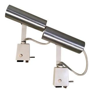 Rare Lightolier Decorator Spot Track Light - A Pair For Sale