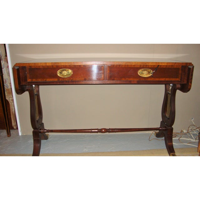 Baker Furniture Company Mahogany Sofa Table - Image 2 of 10