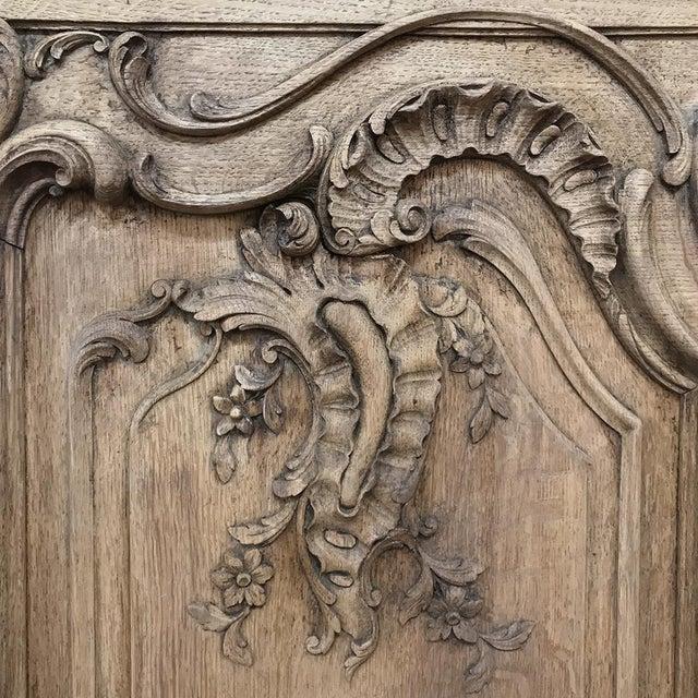 Gray 19th Century Liegoise Regence Stripped Oak Buffet For Sale - Image 8 of 13
