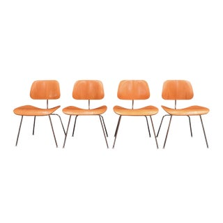 Vintage DCM Chairs by Charles Eames for Herman Miller - Set of 4